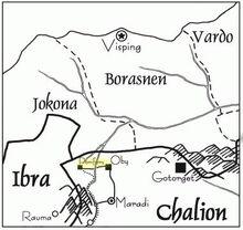 Porifors-map