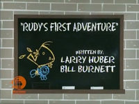 Rudy's First Adventure titlecard