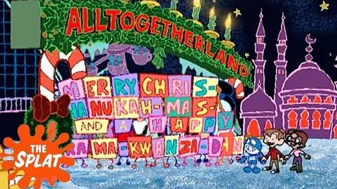 """Merry Chris-Hanukkah-mas"" ChalkZone The Splat"