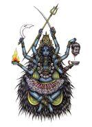 Goddess Kali Tattoo