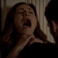 Thomas Choking Her