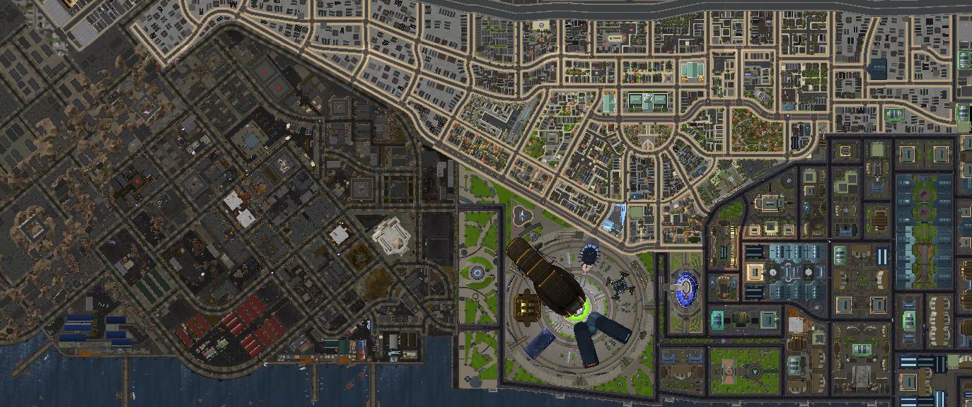 Image - Millennium City Map png   Champions Online Wiki   FANDOM