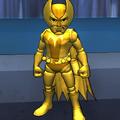 Golden Foxbat Action Figure