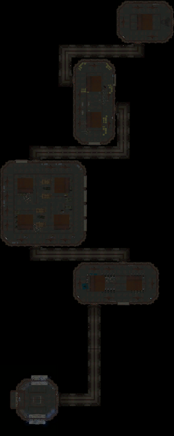 Bunker Alpha Generator Complex Map