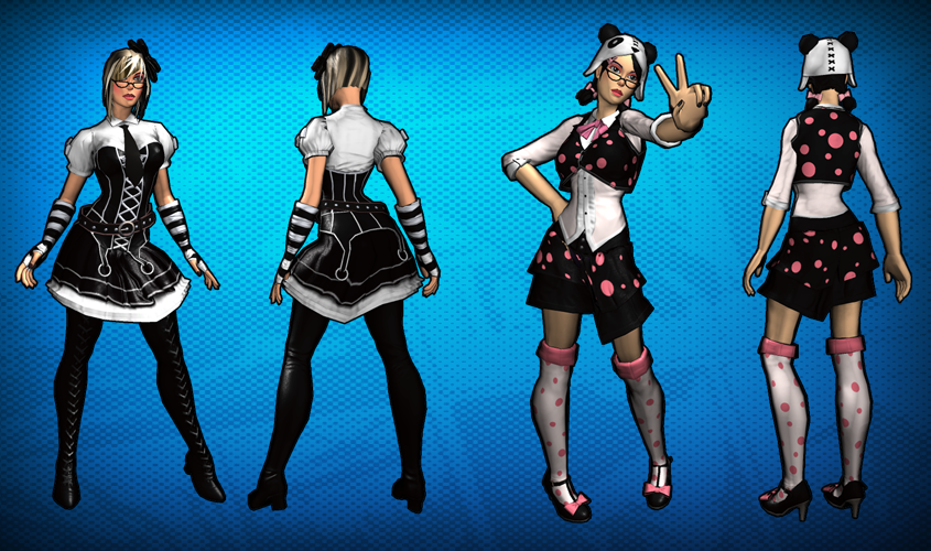 Image - Harajuku Girl Costume Set Detail 2.png - Champions Online Wiki - FANDOM powered by Wikia