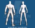 Golden Age Bolt (Shoulder Pads) - Back