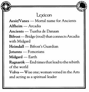 Aesin Lexicon