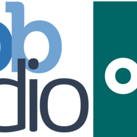 The first logo of TiBB Radio One used from June 2017 until 4 May 2018