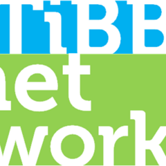 The second logo of TiBB Networks from 28 February 2016 to 4 April 2017.