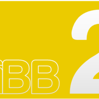 The second logo as TiBB2 from 22 February 2016—2 January 2017