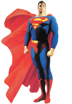 Sons of Gotham Superman Shattered Shield Adult Work Shirt