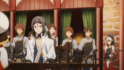 Revolutionary Army in Shuka's Revolutionary Army Quater (Anime)