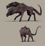 Concept Art - Hellhound 3