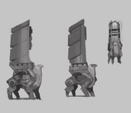 Concept Art - Icarus Tower
