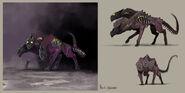 Concept Art - Hellhound