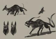 Concept Art - Hellhound 4