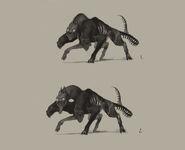 Concept Art - Hellhound 1