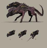 Concept Art - Hellhound 2