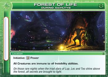 Forest of Life - DA card