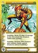 Malvadine- Mipedian Elite Warrior