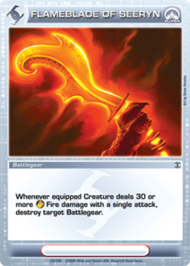 Flameblade of Seeryn