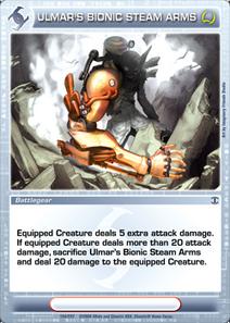 Ulmar's Bionic Steam Arms