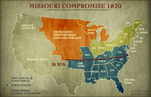 The Missouri Compromise- Connor Smith | Mr. Chapin\'s US History Wiki ...