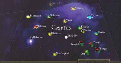 Sub-Sector Cryptus Map