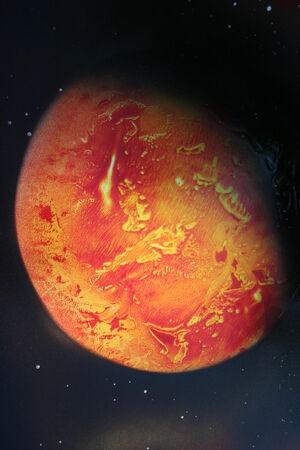 Volcano-planet