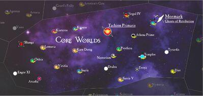Sub-Sector Deus Map
