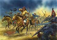 Dirr Hazhakan cavalry