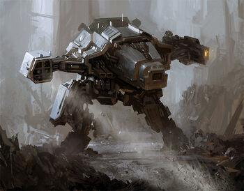 Wrath warhound titan