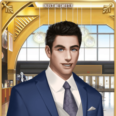 Card 3 - Vincent Rutherford (Tuxedo Look)