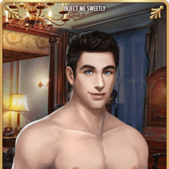 Card 5 - Vincent Rutherford (Shirtless)
