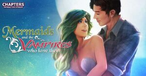 Mermaids and The Vampires Who Love Them Logo