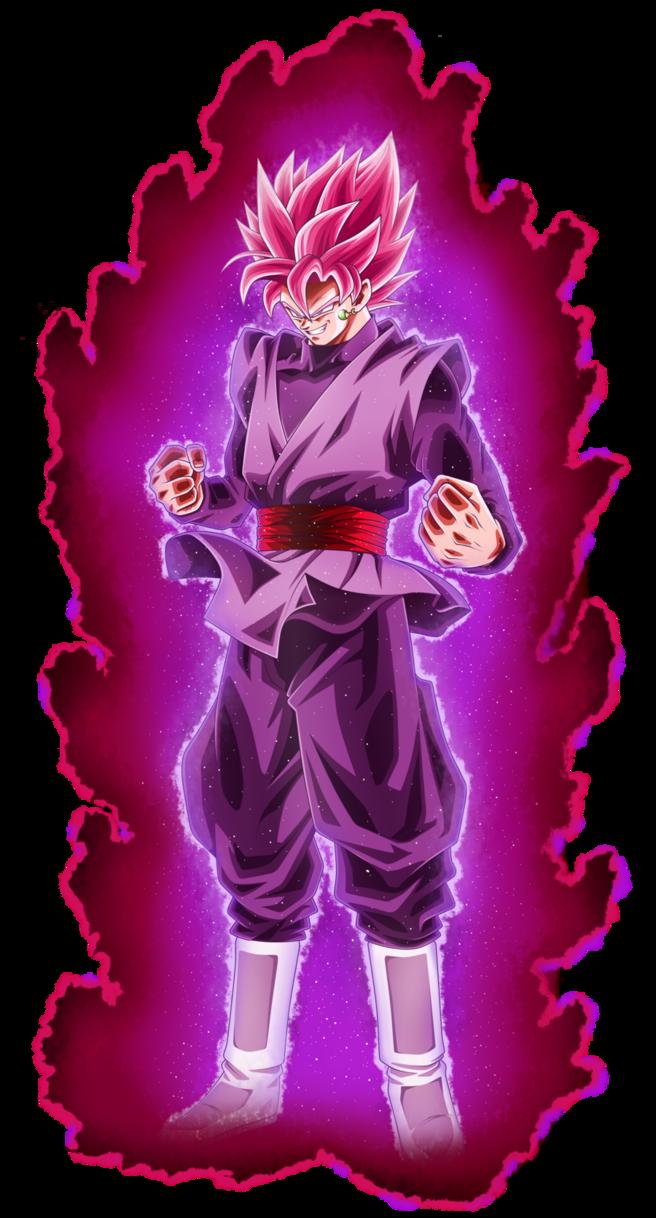 Black Goku Super Saiyan Rose SSJR by AbhinavtheCule on ...  |Black Goku Super Saiyan