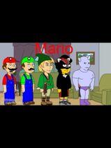 Mario, Luigi, Link, Shadow