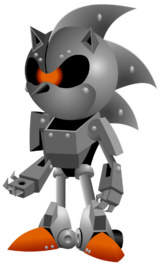 Silver Sonic (Canon, Game Character)/Adamjensen2030