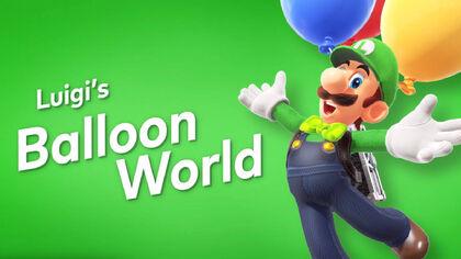 Odyssey Balloon Luigi