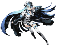 Esdeath (Canon, Death Battle)/Unbacked0
