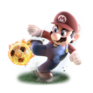 Mario Sports Superstars - Mario Football alt