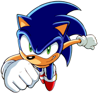 Sonic Speed in Sonic X by Strunton