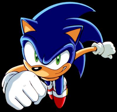 Sonic Speed in Sonic X by Strunton