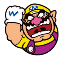Super mario wario icon 2d by joshuat1306 dcl6q01