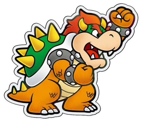 Paper Bowser PJ Artwork