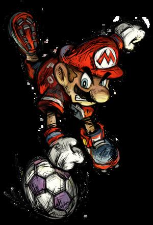 407px-Mario Promo2 - Super Mario Strikers