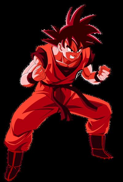Goku kaioken render