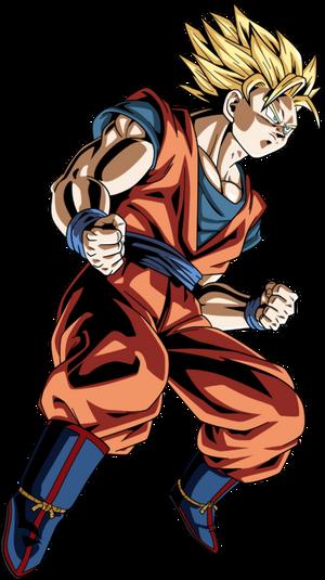 Super Saiya-jin 2 Son Goku