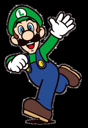 2-D Luigi