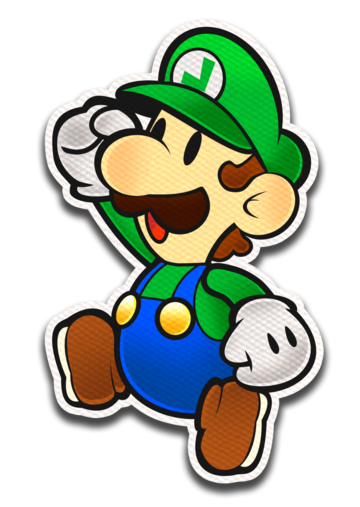 Paper Luigi CS by FawfulTheGreat
